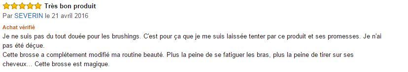 Dafni Hair commentaire clients 1