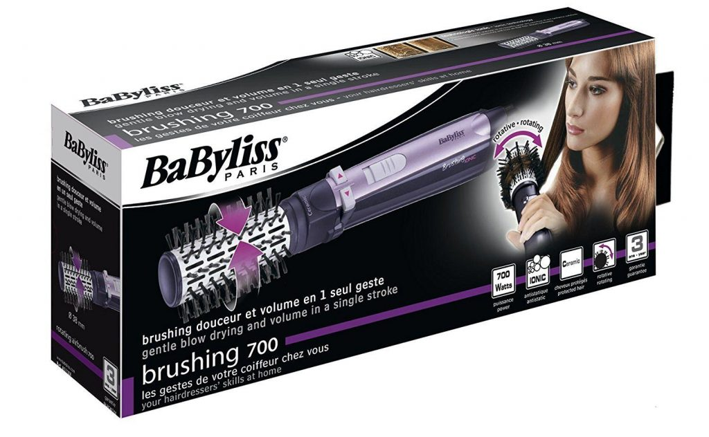 packaging babyliss 700 brushing